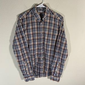 Gustin Plaid Button Front Shirt S